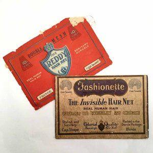 Vintage Hair Nets in Original Envelopes